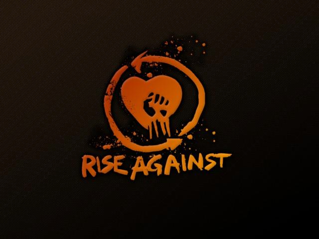 rise-against-logo-organge-wallpaper